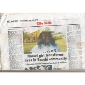 A short documentary of my story on the page of the DAILY SUN